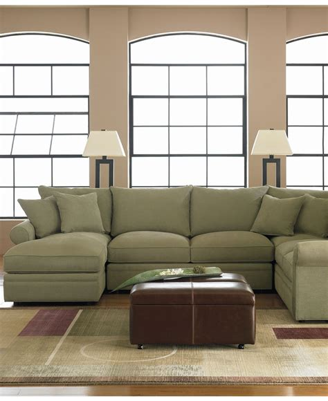 sectional sofa left arm chaise doss fabric microfiber sectional sofa 4 piece left arm