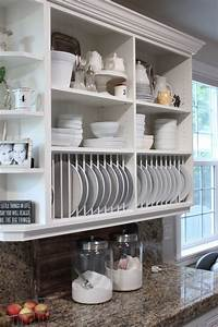 65, Ideas, Of, Using, Open, Kitchen, Wall, Shelves