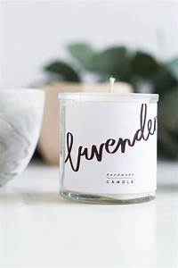 diy scented candle gifts free printable labels fall With create candle labels