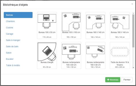 bureau plan plan de maison et plan d 39 appartement gratuit logiciel