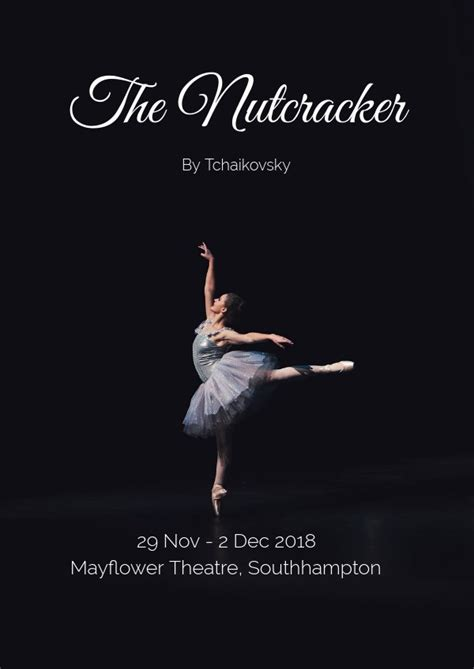 beautiful ballet dance flyer poster template flipsnack