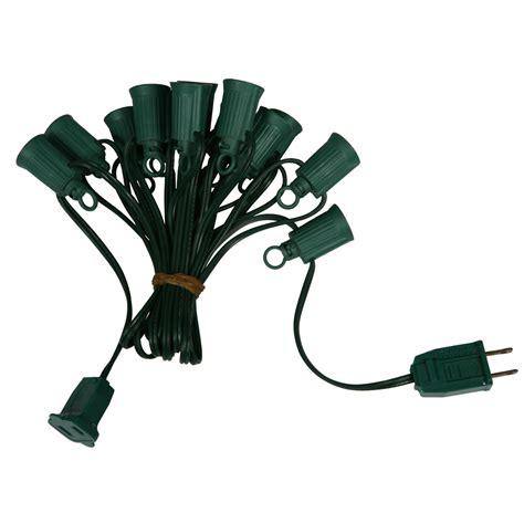1000 foot c7 light socket string with 2000 sockets