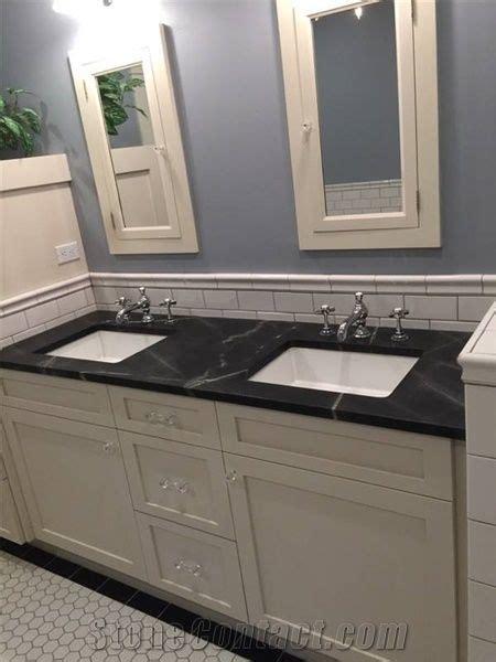 black sea soapstone bathroom counter  united states