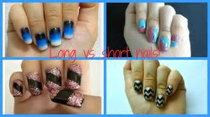 Different types of nail designs for long and short nails