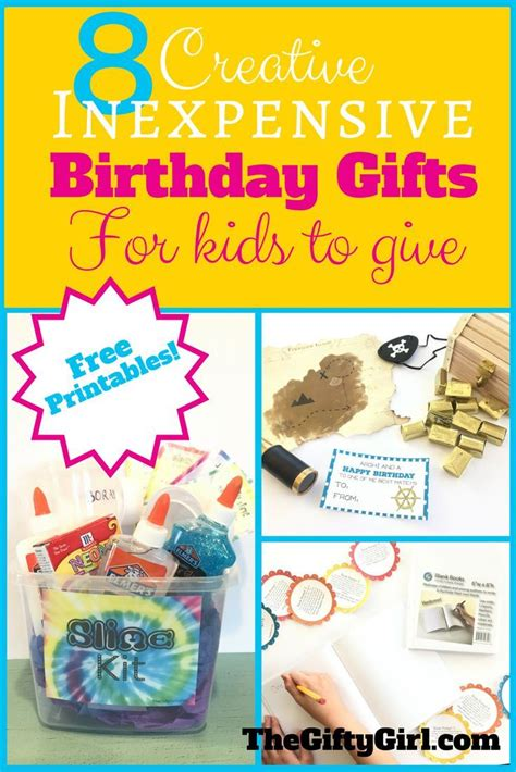 no cost gift ideas 8 creative inexpensive birthday gifts for to give diys craft activities and gift