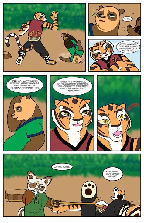 Kung Fu Panda The New Five Page By Bico Kun On Deviantart