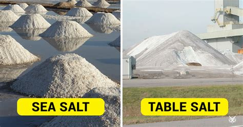 what is the difference between sea salt and table salt this is the difference between 39 sea salt 39 and 39 table salt