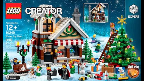 winter toy shop lego creator expert  designer