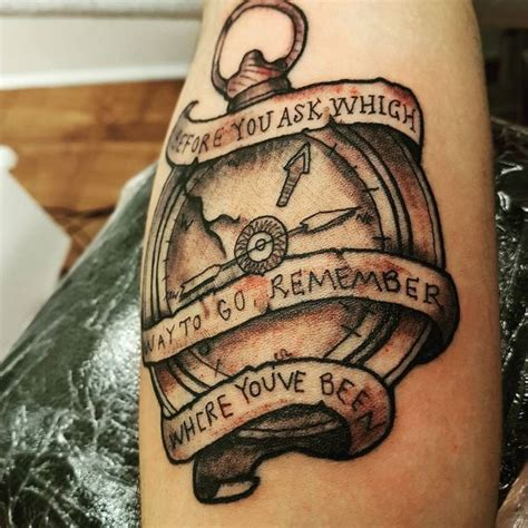 Old Man Tattoo Meme - collection of 25 rope compass tattoo design