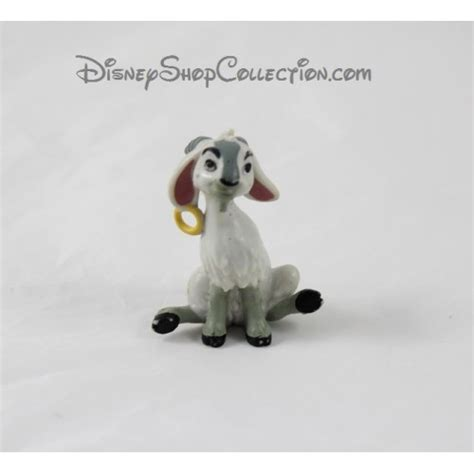 figurine goat djali disney bully  hunchback  notre
