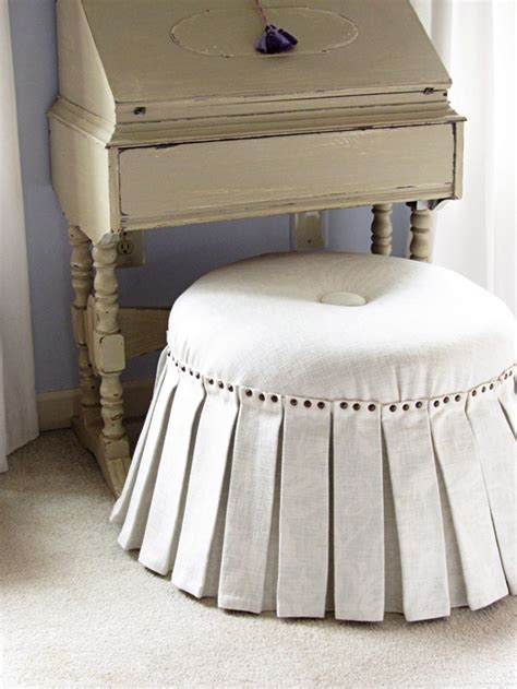 how to make an ottoman how to make a no sew ottoman part 2 in my own style