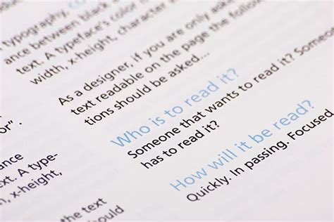 typographic workbook on student show