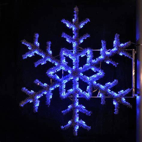 led garland xmas lights shop holiday lighting specialists 5 ft garland snowflake