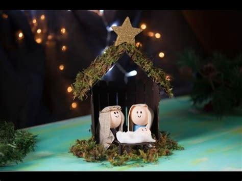 Manualidad Cómo hacer un Nacimiento Fácil para Navidad