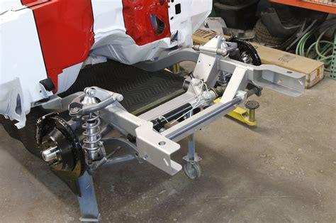 super chevy  camaro pro  subframe install heidts
