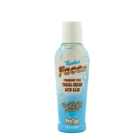 Tanning Bed Lotions With Bronzer by Pro Flawless Faces Lotion Bronzer Aloe