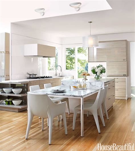 airy  bright kitchen contemporary kitchen design