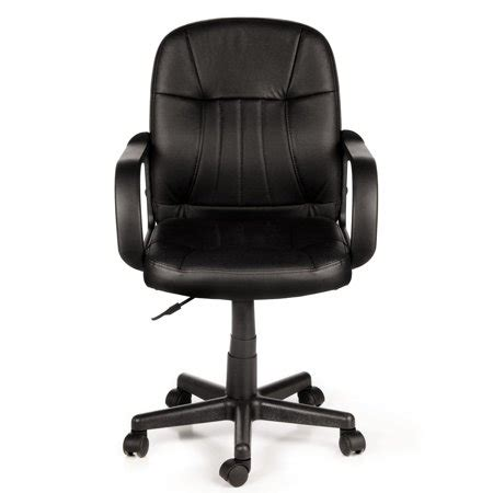 Office Chairs 60 by Comfort Products 60 5607m Mid Back Leather Office Chair