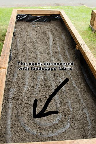 building  irrigated raised garden beds  camerastoys