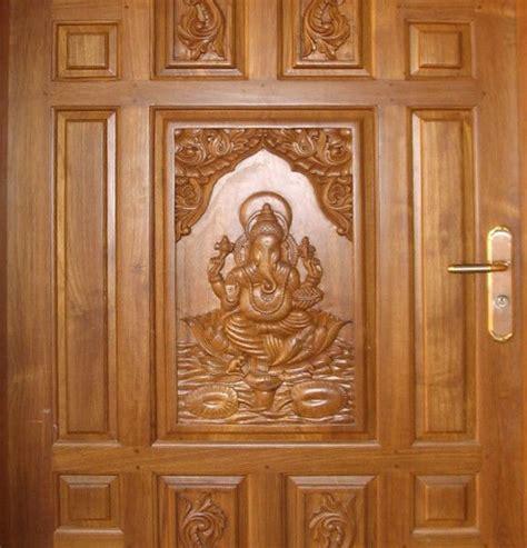 teak wood door  ganesh exterior door main door