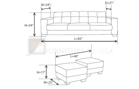 Dimensions Of Loveseat by Sofa Dimensions Standard Dicas Sofa 3 Seater Sofa E