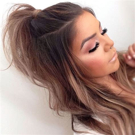 hair hair styles ponytail hairstyles hair