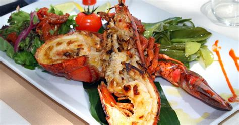 cuisiner langouste homard thermidor recette du homard thermidor partie 1