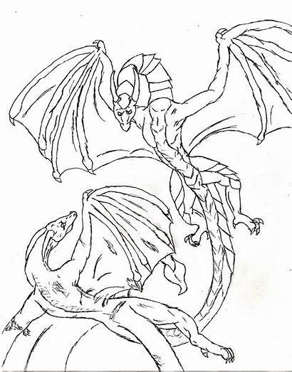 Dragons Dungeons Coloring Pages Printable Getcolorings Colorings