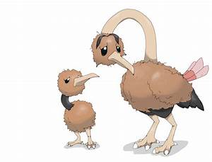 Lonely Doduo and Dodrio by defno on DeviantArt