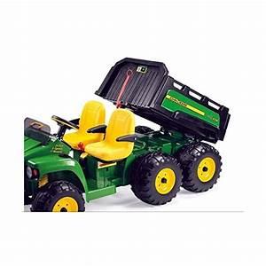 Tracteur Electrique Peg Perego 24v John Deere Gator Hpx