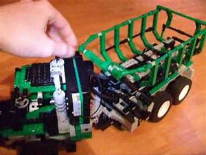 Lego Articulated Dump Truck Built With Barcode Multi Set