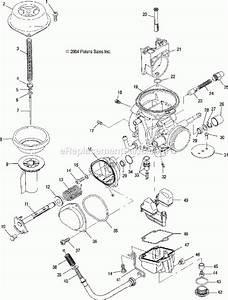 2007 Polaris Sportsman 500 Parts List