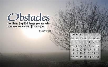 January Desktop Inspirational Motivational Wallpapers Screensavers Quotes