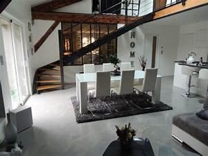 Sol Beton Ciré Prix : poser ou refaire son sol parquet carrelage et b ton ~ Premium-room.com Idées de Décoration