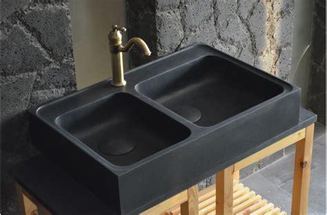 evier vasque cuisine vasque evier cuisine evier encastrer granit et rsine noir roxana 15 bac avec gouttoir le