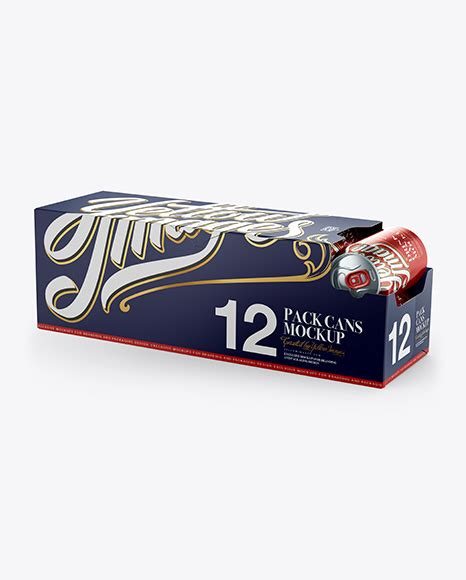 Ready to get started on your product packaging? 12 Aluminium Cans with Metallic Finish in Shelf-Ready ...