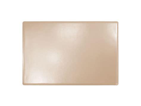 sous mains de bureau sous de bureau en cuir beige sm700