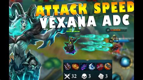 Mobile Legends Vexana Attack Speed Marksman Build Gameplay