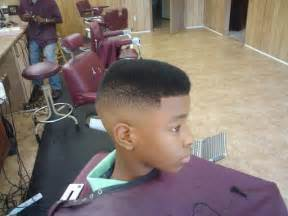 High Top Fade Haircut Black Men