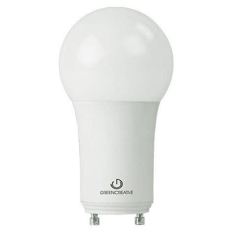 gu24 led light bulb led a19 gu24 base 11w 60w equal green creative 40739