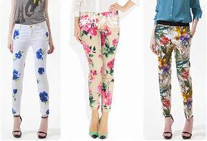 le pantalon fleuri le blog beaute femme beaute femme With affiche chambre bébé avec pantalon imprimé fleuri