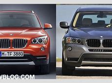 BMW X1 vs X3 Will the choice confuse buyers?
