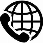 Icon Symbol International Service Calling Icons Call