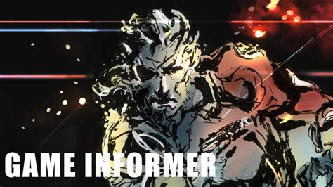 informer metal cover game informer cover art metal gear ground zeroes youtube