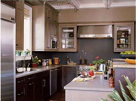 idee couleur mur cuisine cuisine blanche mur bleu canard