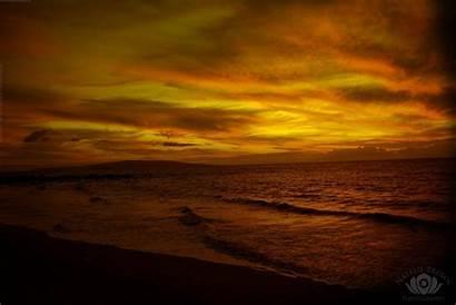 Sepia Artsy Backgrounds Wallpapers Desktop Hawaii Sunset