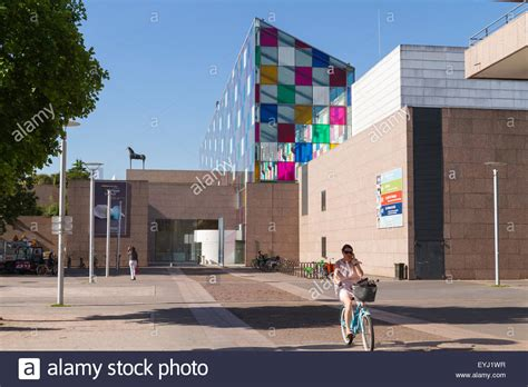 museum of modern strasbourg strasbourg museum of modern and contemporary stock photo royalty free image 85833827 alamy
