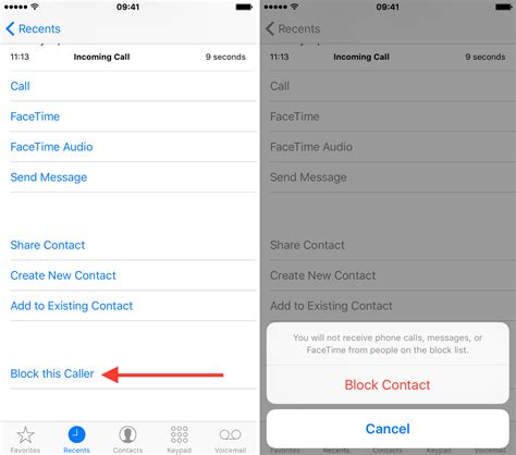 block phone calls how to block someone from contacting you in ios