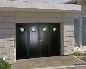 Porte De Garage 4 Vantaux : porte des garage 4 vantaux ~ Dallasstarsshop.com Idées de Décoration