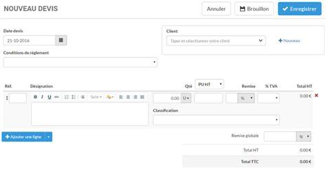 modele devis gratuit en ligne exemple de devis en ligne